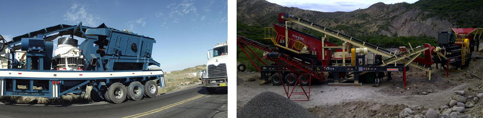 Portable Cone Crushing Plant