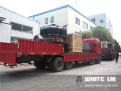 Two Cone Crusher shipped to Mex